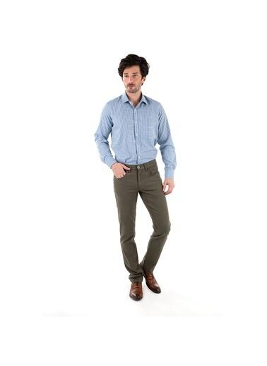 Sabri Özel Pantolon Yeşil
